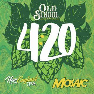 Cerveja 4:20 Old School Mosaic