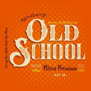 Cerveja artesanal Old School Pilsen Premium